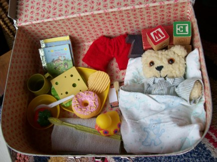 Little Bear Story Suitcase